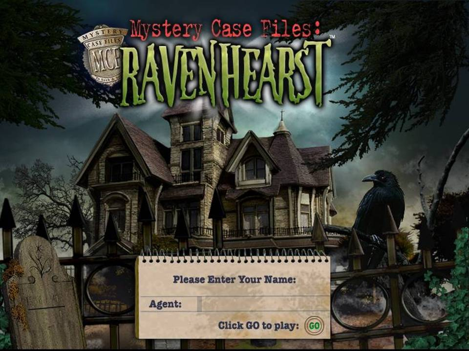 Mystery Case Files Ravenhearts Review Title