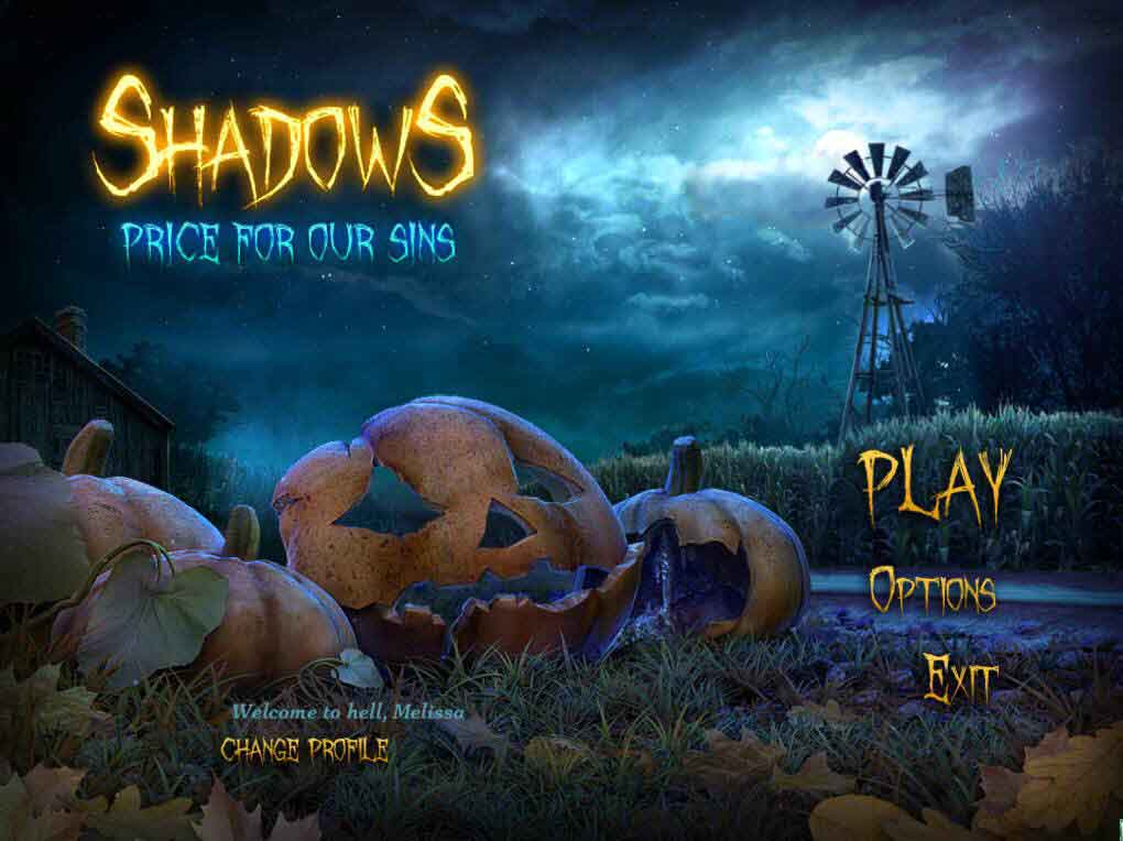 Shadows: Price for Our Sins Walkthrough: Title Screen