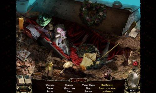 Tales of Terror Crimson Dawn Review Hidden Object Game