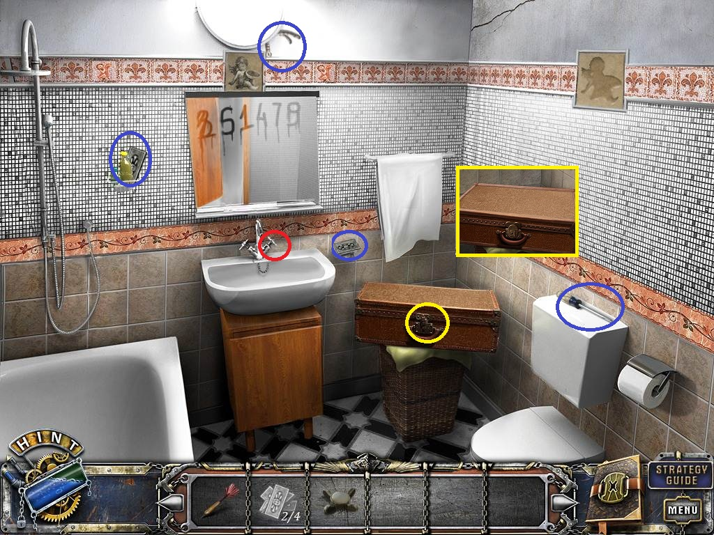 Escape the bathroom walkthrough