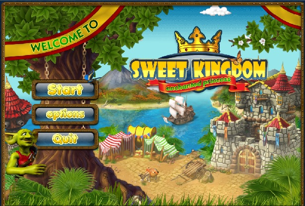 Sweet Kingdom: Enchanted Princess Walkthrough: