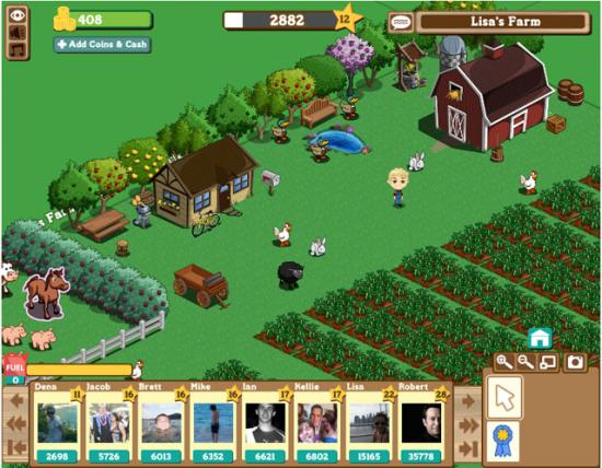 Farmville Screenshot http://www.casualgameguides.com/games/images/creatives/FarmVille-screen-2.jpg