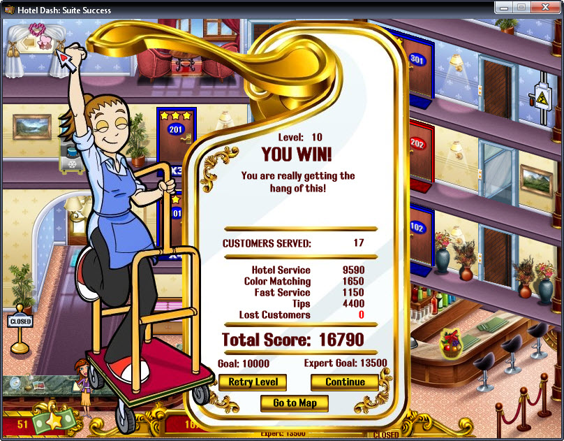 Play Free Online Hotel Games