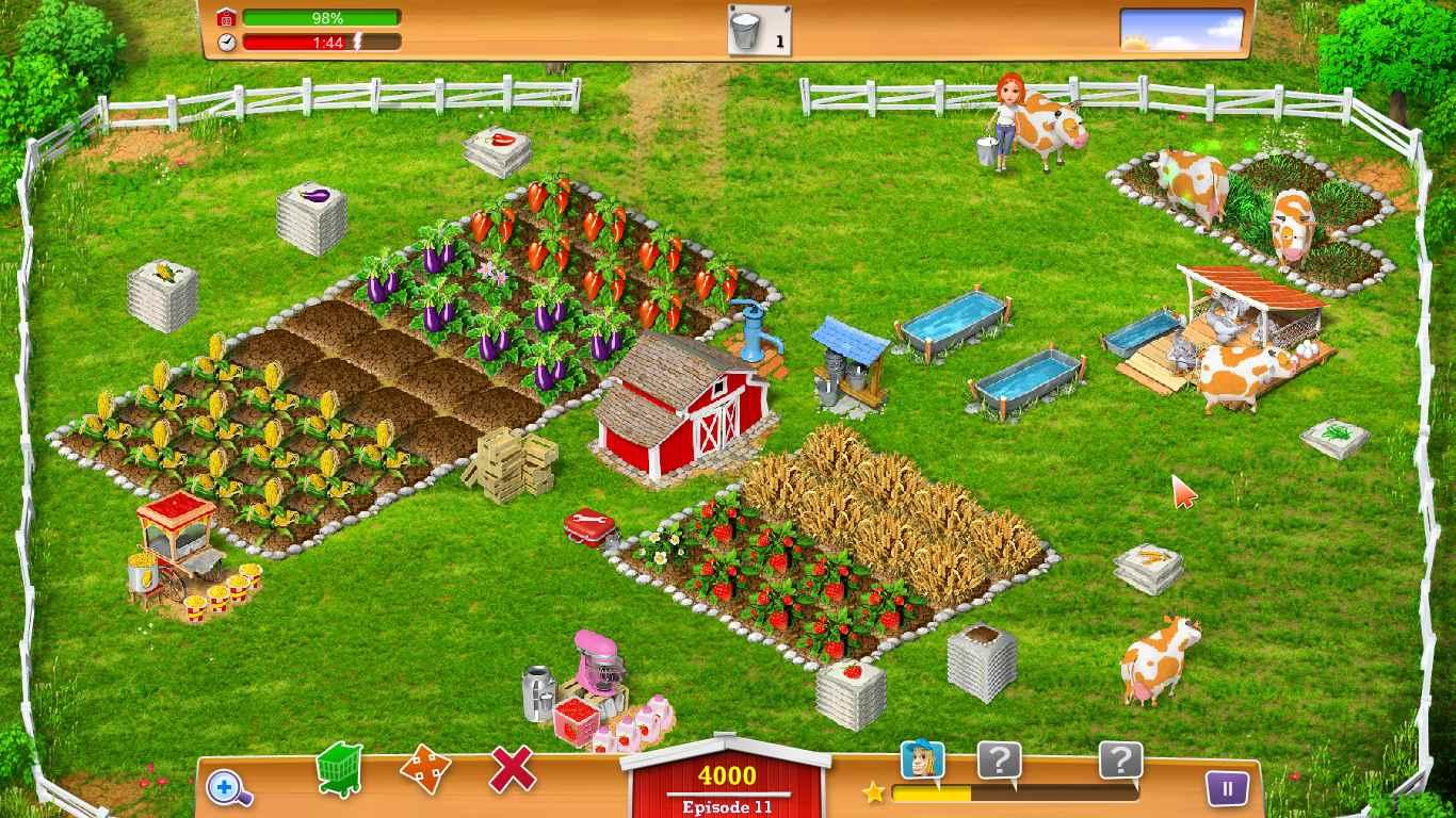 لعبة حياة المزرعة احلى من المزرعة السعيدة